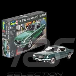 Maquette model modell kit Ford Mustang 2+2 Fastback 1965 à coller et peindre 1/24 Revell 07065