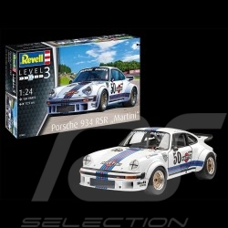 Model Porsche 934 RSR Martini 1977 to glue and paint 1/24 Revell 07685