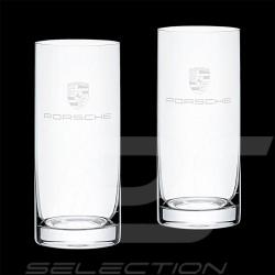 Set de 2 verres glass glaßen Porsche Long drink WAP0505010NLGL