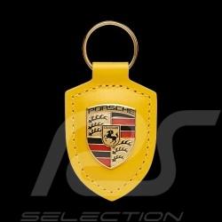 Porsche crest keyring Speed Yellow WAP0500200M12H
