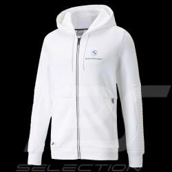 Veste BMW M Motorsport Puma Softshell Sweatshirt Hoodie Blanc - homme jacket jacke