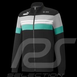 Veste sweat Mercedes-AMG Petronas Puma Black / Green - men 531720-01