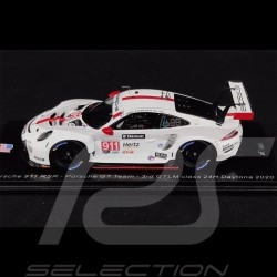 Porsche 911 RSR Type 991 n° 911 24h Daytona 2020 1/43 Spark US122