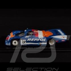 Porsche 962 C n° 17 24h Le Mans 1989 1/43 Spark S9875