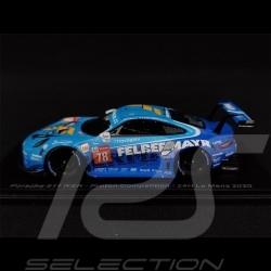 Porsche 911 RSR Type 991 n° 78 24H Le Mans 2020 1/43 Spark S7990