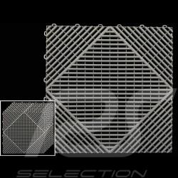 Garage floor tiles Grey RAL7012 Quality-Price - 15 years warranty - Set of 6 tiles of 40 x 40 cm
