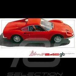 Ferrari Brochure Dino 246 GT 1969 in Italian English French N29/69