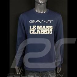 Sweatshirt Gant Le Mans Classic 2020 blue blau Bleu Marine 2046070-410 - homme