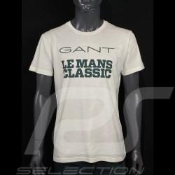 T-Shirt Gant Le Mans Classic wollweiß 2053011-113 - Herren