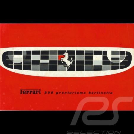 Ferrari Brochure 250 granturismo berlinetta 1961 in French