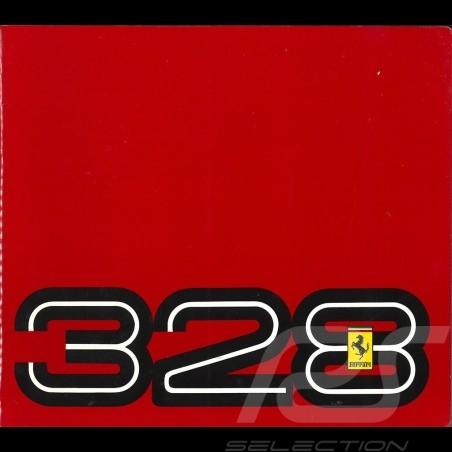 Ferrari Brochure 328 from 1985 to 1989 in Italian English French German 5M/01/89