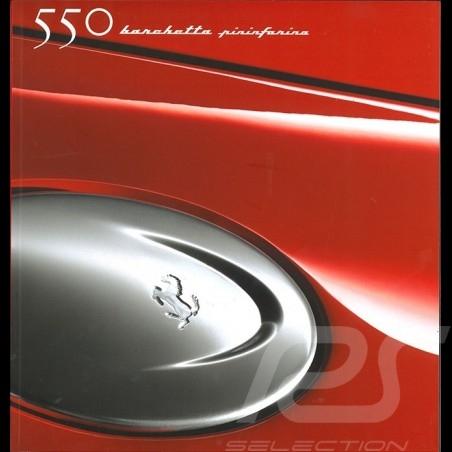 Ferrari Brochure 550 Barchetta Pininfarina 2000 in Italian English French German