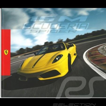 Ferrari Brochure 16M Scuderia Spider in Italian English 95998094