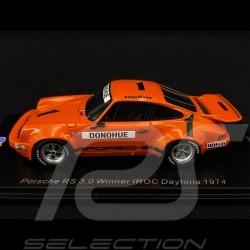 Porsche 911 RS 3.0 n° 1 Winner IROC Daytona 1974 1/43 Spark US142