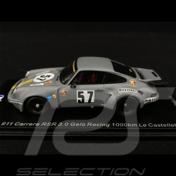 Porsche 911 Carrera RSR 3.0 n° 57 Gelo Racing 1000km Le Castellet 1974 1/43 Spark SF192