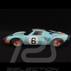 Ford GT40 Mk 1 n° 6 Vainqueur Winner Sieger 24h Le Mans 1969 1/18 Solido S1803003