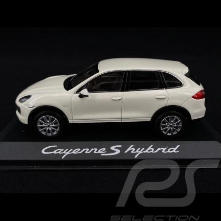 Porsche Cayenne S Hybrid 2011 blanc white weiß 1/43 Minichamps WAP0200040B