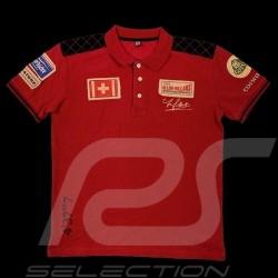 Polo shirt Jo Siffert n° 22 Ollons Villars 1962 Red - men