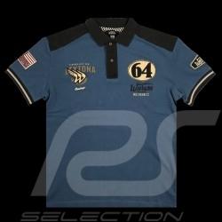Polo Daytona 64 Warson Bleu - homme
