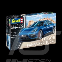 Model Porsche Panamera Turbo to glue and paint 1/24 Revell 07034