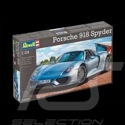 Model Porsche 918 Spyder to glue and paint 1/24 Revell 07026