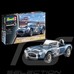 Model Shelby Cobra 289 1962 to glue and paint 1/25 Revell 07669