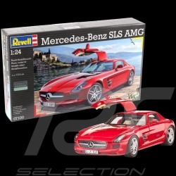 Model Mercedes - Benz SLS AMG to glue and paint 1/24 Revell 07100