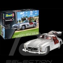 Maquette kit montage model Mercedes - Benz 300 SL à coller et peindre 1/12 Revell 07657