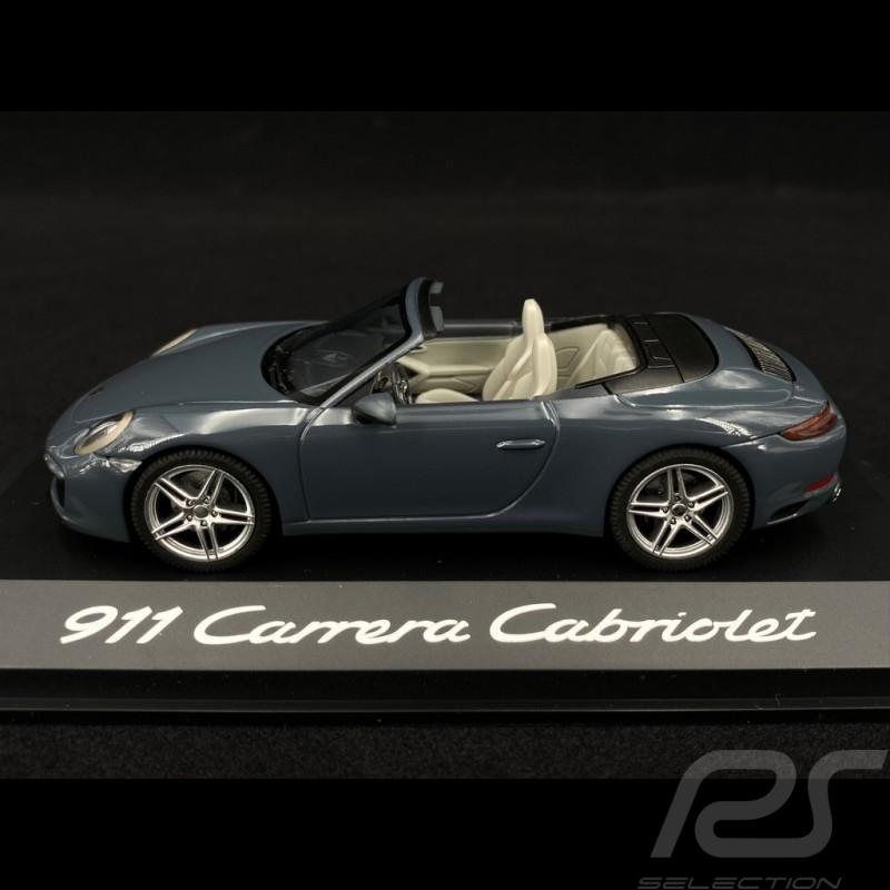 Porsche 911 type 991 Carrera Cabriolet 2015 phase 2 blue 1/43 Herpa WAP0201140G