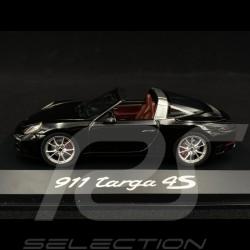 Porsche 991 Targa 4S 2015 schwarz 1/43 Herpa WAP0201410G