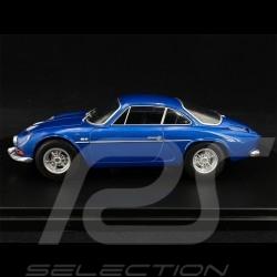 Renault Alpine A110 1300 1971 Bleu blue blau metallic Métallique 1/24 White Box WB124058