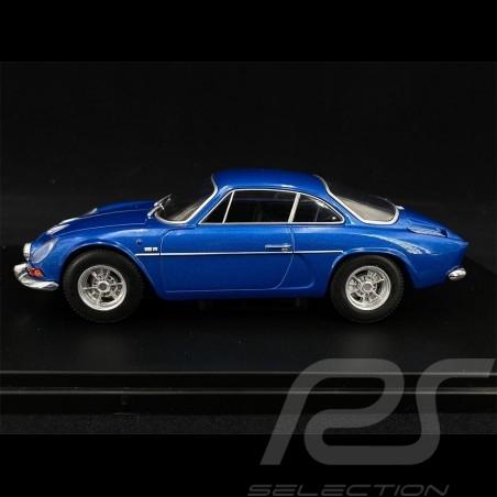 Renault Alpine A110 1300 1971 Metallic Blue 1/24 White Box WB124058