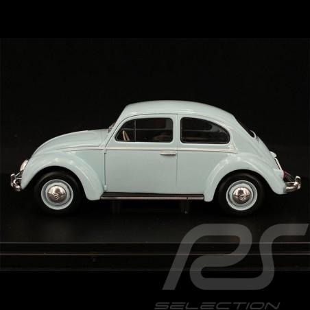 VW Beetle 1200 1960 Light Blue 1/24 White Box WB124055