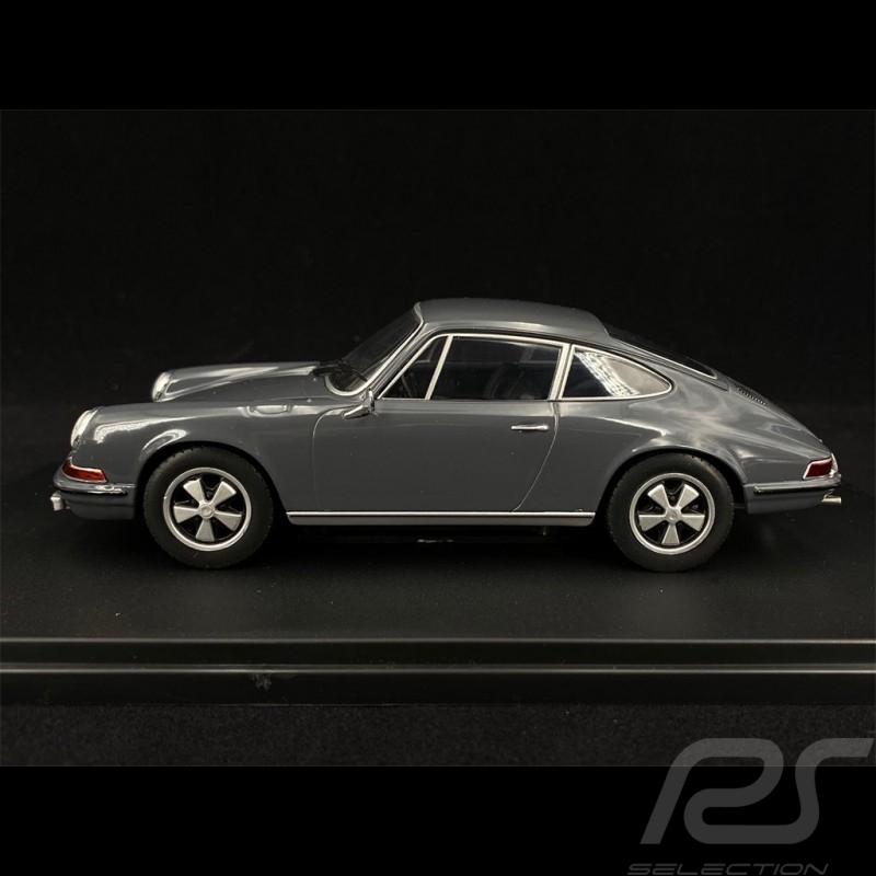 Porsche 911 S 1968 Slate Gray 1/24 White Box WB124049