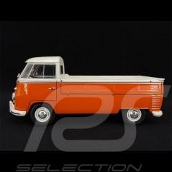 Volkswagen T1 Pick Up 1950 Orange - Blanc white weiß 1/18 S1806701