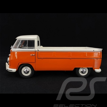 Volkswagen T1 Pick Up 1950 Orange - White 1/18 S1806701