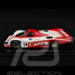 Porsche 956 n° 14 Platz 2 Le Mans 1985 1/43 Spark S9864