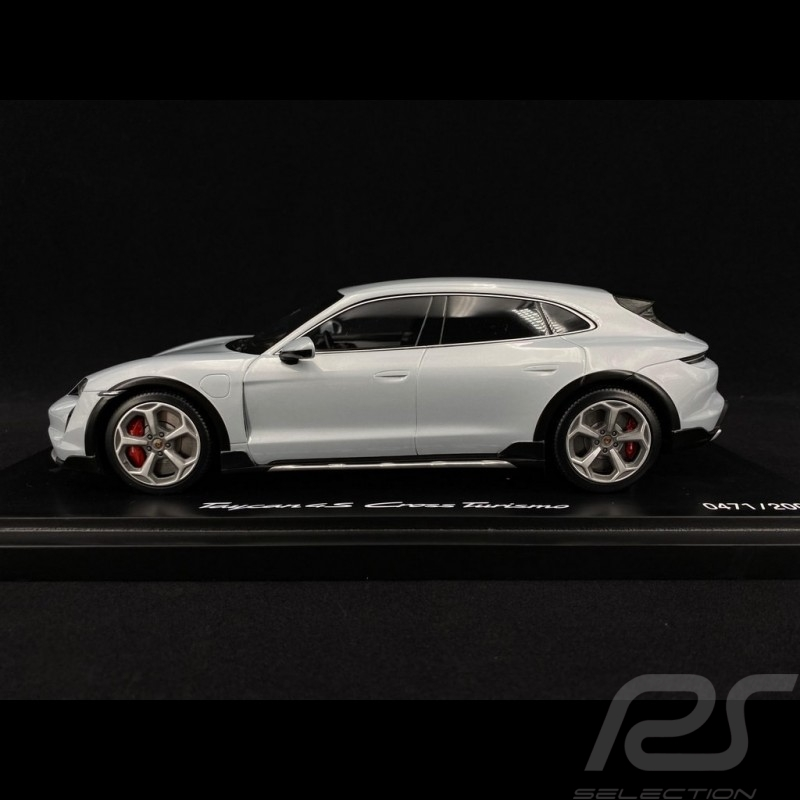 Porsche Taycan 4S Cross Turismo 2021 metallic ice grey 1/18 Minichamps WAP0217840M004