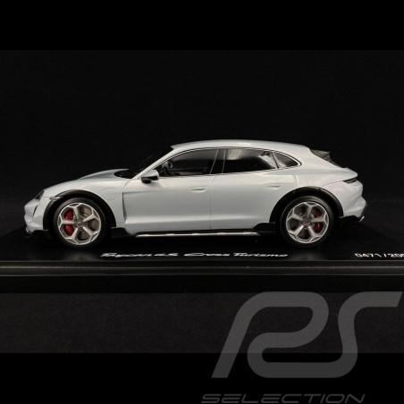 Porsche Taycan 4S Cross Turismo 2021 Eisgraumetallic 1/18 Minichamps WAP0217840M004