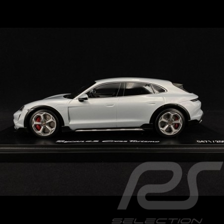 Porsche Taycan 4S Cross Turismo 2021 gris glacier métallisé 1/18 Minichamps WAP0217840M004  metallic ice grey Eisgraumetallic