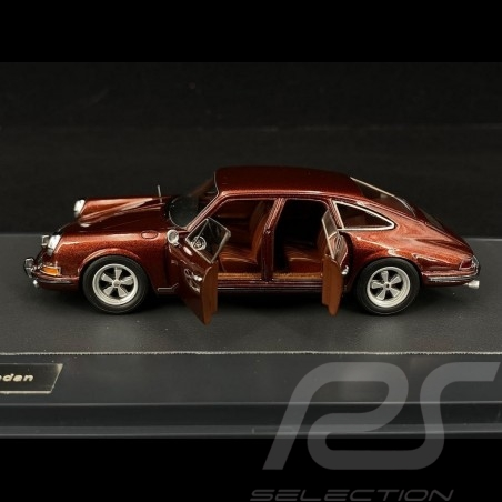 Porsche 911 Sedan 1972 rouge 1/43 Matrix MX41607025