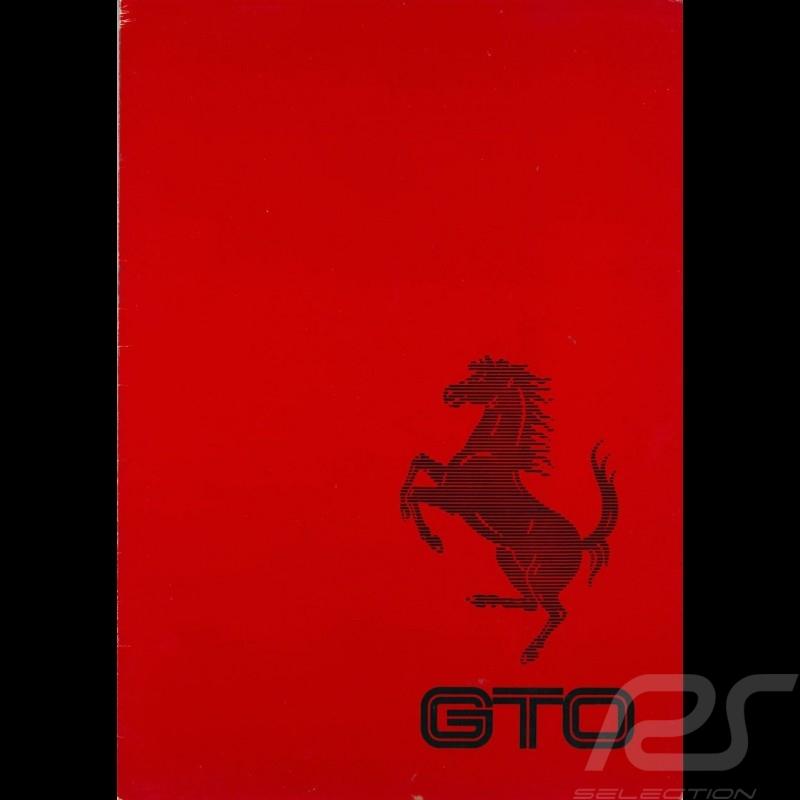 Ferrari Brochure 288 GTO in German Ferrari Club Magazin 3/84
