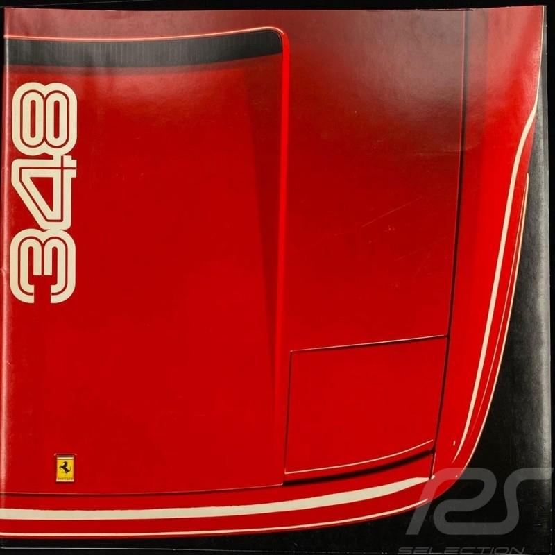 Ferrari Brochure 348 06/1990 in German 13M/6/90