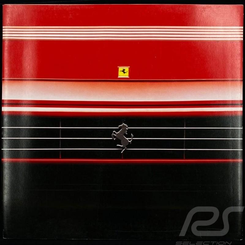 Ferrari Brochure Mondial T 11/1989 in German 8M/11/89
