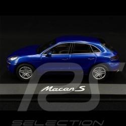 Porsche Macan S 2014 blue 1/43 Minichamps WAP0201530E