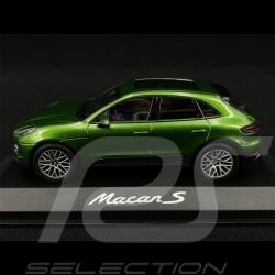Porsche Macan S 2018 Mamba green 1/43 Minichamps WAP0206000J