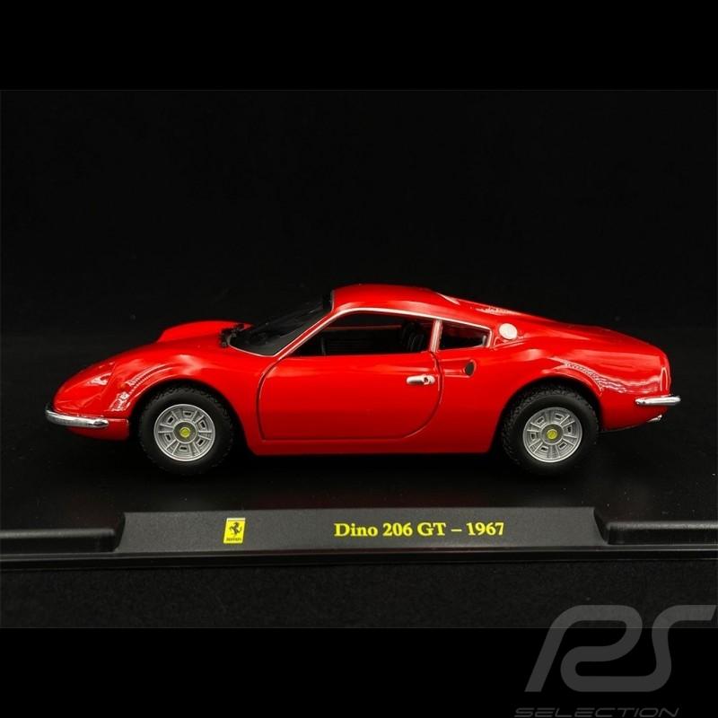 Ferrari Dino 206 GT 1967 Red 1/24 Bburago