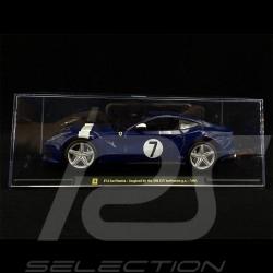 Ferrari F12 Berlinetta n° 7 1961 Blue 1/24 Bburago