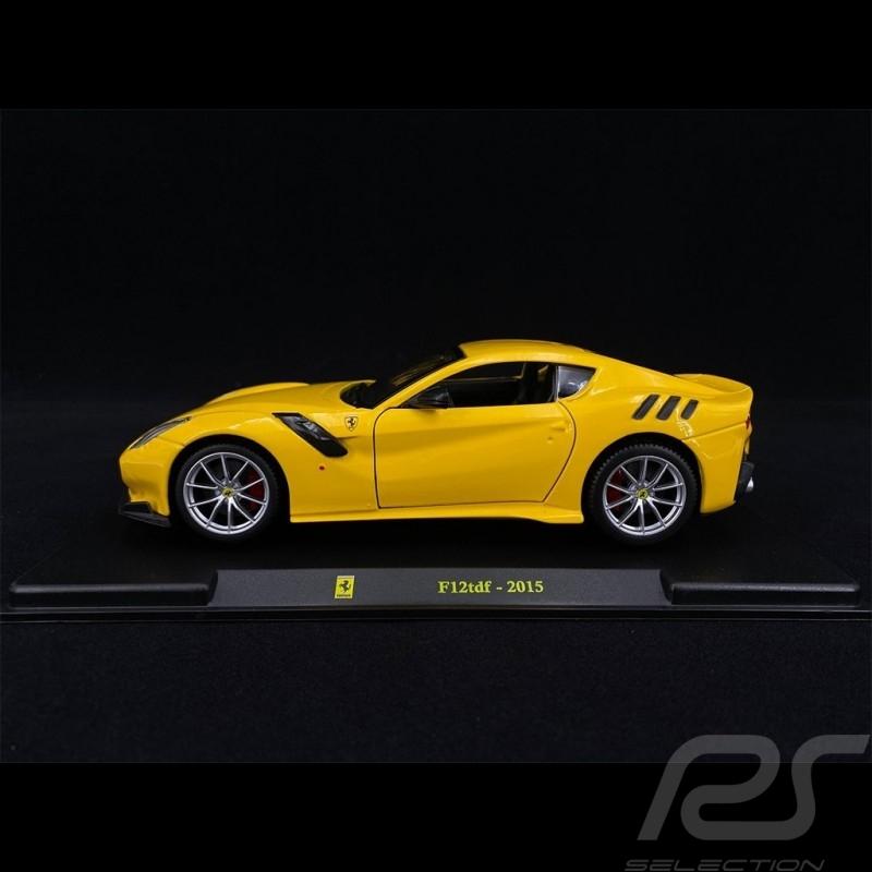 Ferrari F12tdf 2015 Yellow 1/24 Bburago