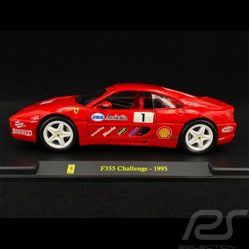 Ferrari F355 Challenge n° 1 1995 1/24 Bburago